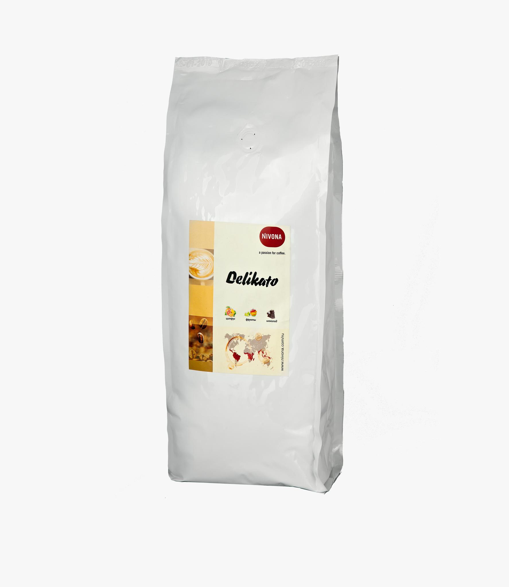 Кофе в зернах Nivona DELIKATO